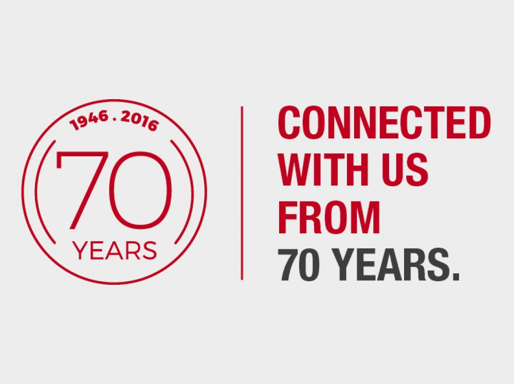 Connected with us from 70 years