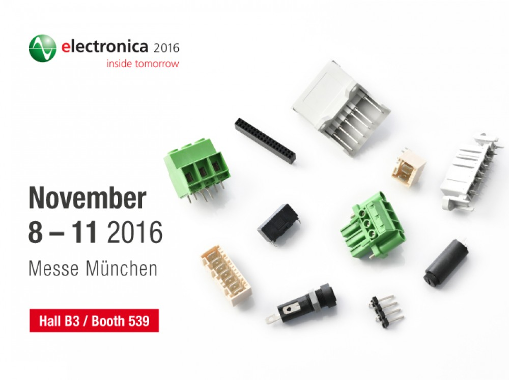 Wuerth Elektronik Stelvio Kontek at Electronica 2016