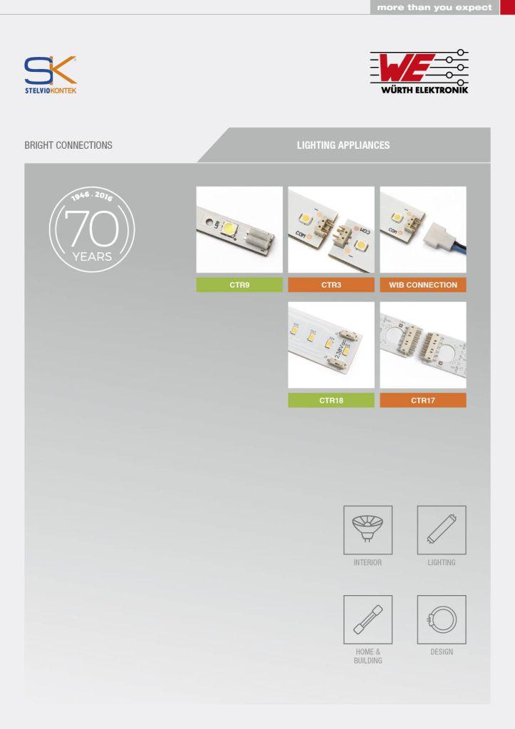 Würth Elektronik Stelvio Kontek - Brochure LED 2017